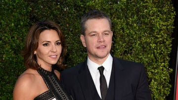 Matt Damon y su mujer, Luciana Barroso