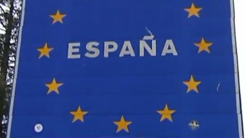 Frontera de España con Portugal
