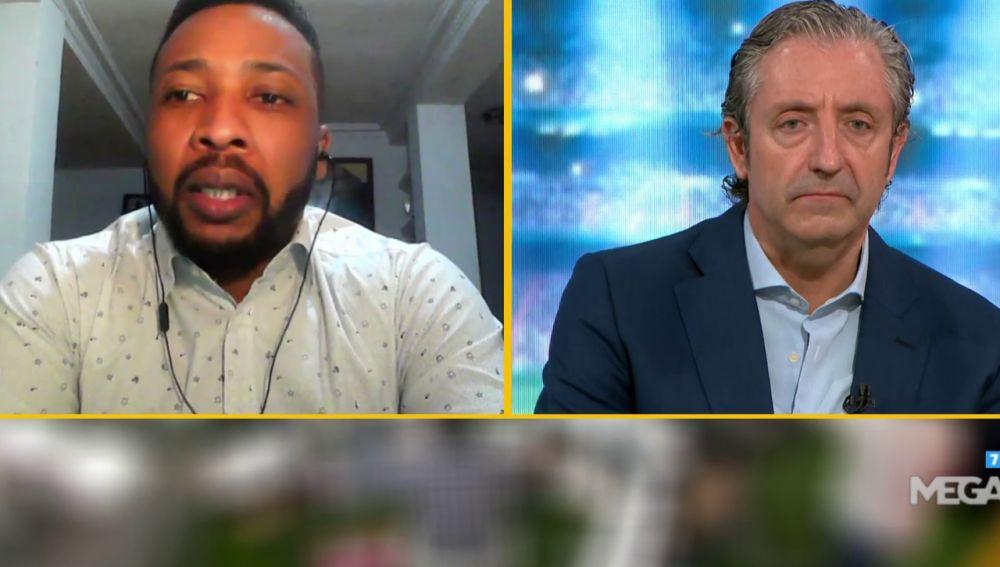 Congo, en la entrevista con Pedrerol