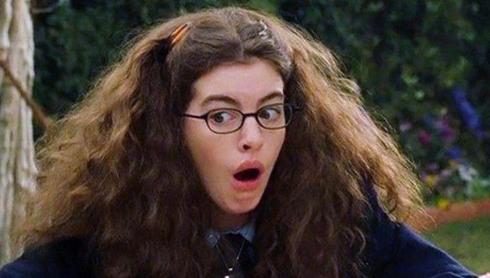 Anne Hathaway como Mia Thermopolis en 'Princesa por sorpresa'