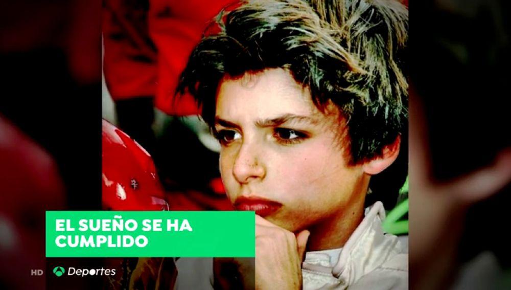Carlos Sainz cumple su sueño de niño y pilotará un Ferrari