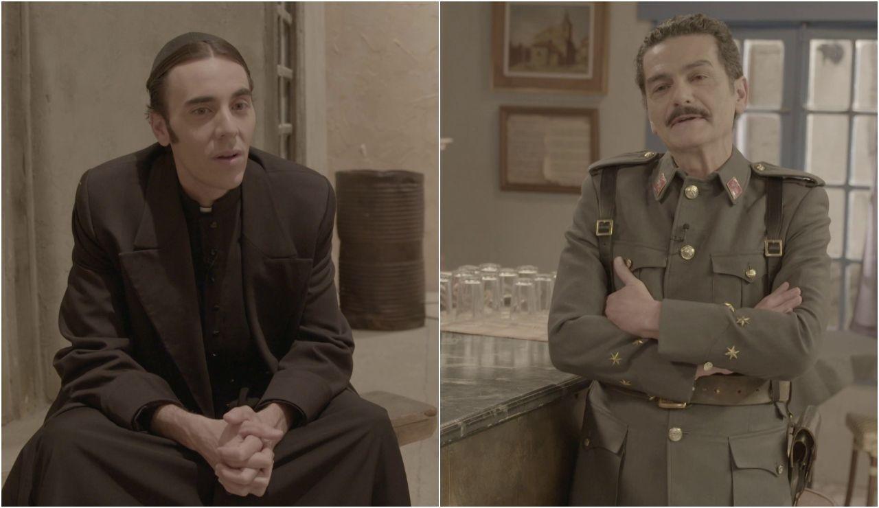 """Una gran transformación física y las secuencias """"más difíciles"""", con Andrés Suárez y Carles Sanjaime"""