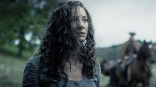 Caitriona Balfe como Claire Fraser en el final de la temporada 5 de 'Outlander'