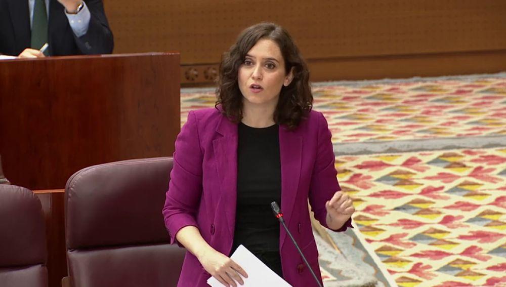 """Isabel Díaz Ayuso sobre el hotel del confinamiento: """"No iba a gestionar Madrid desde el comedor donde ceno todos los días"""""""