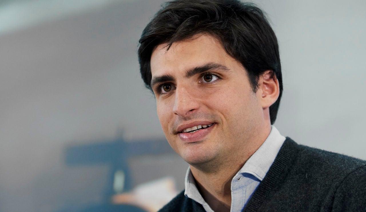 Carlos Sainz, sobre su fichaje de por Ferrari