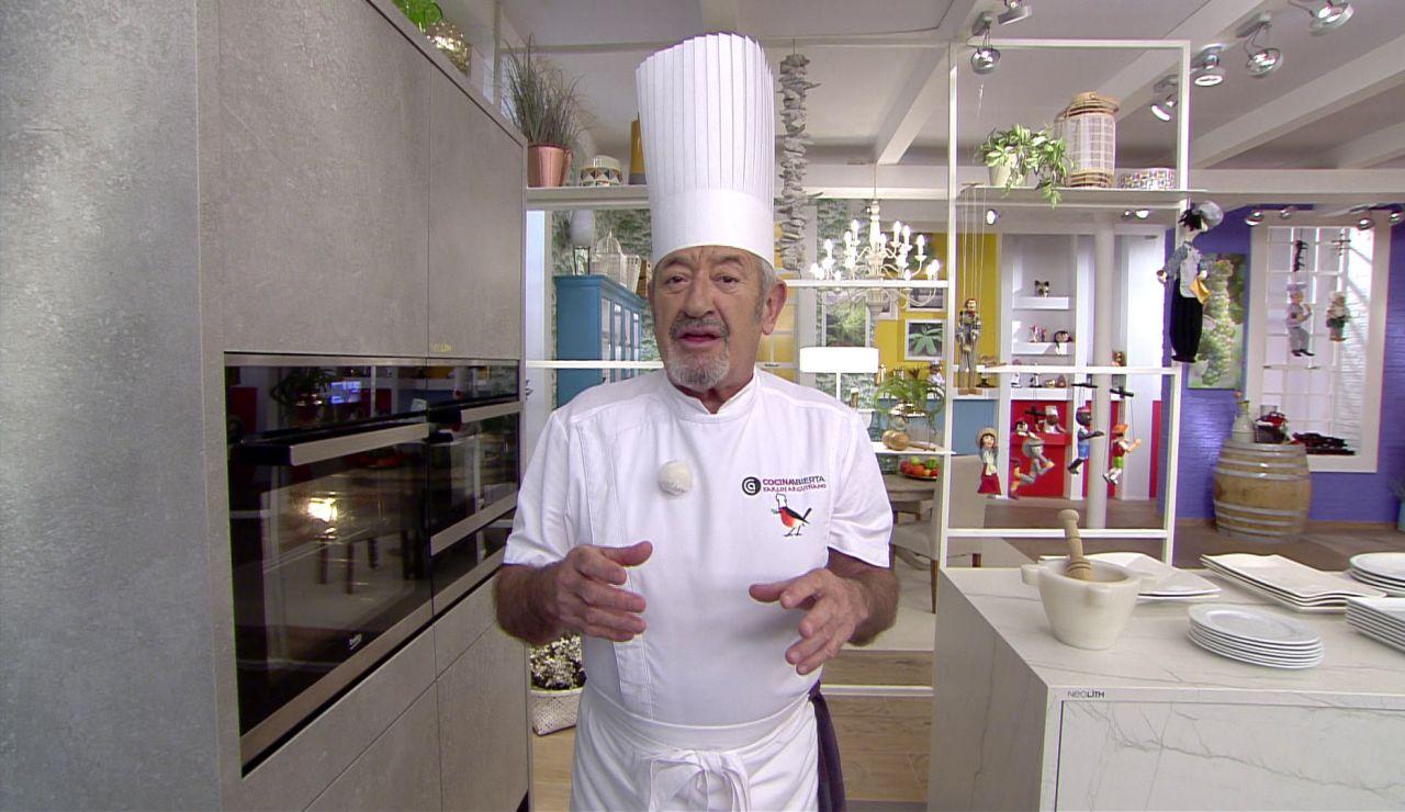La receta que hace Karlos Arguiñano todas las semanas en su casa