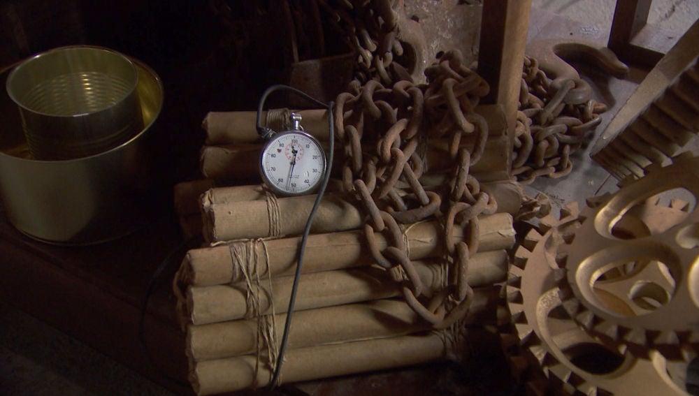 Una bomba, a punto de estallar en la fábrica de Solozábal