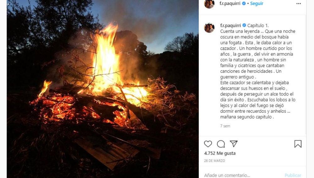 Instagram de Fran Rivera