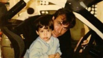 La foto de Carlos Sainz padre