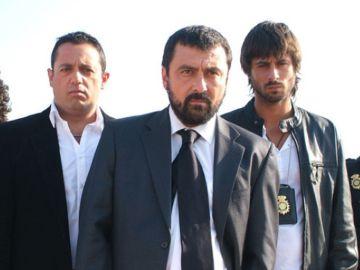 Los protagonistas de 'Los hombres de Paco'