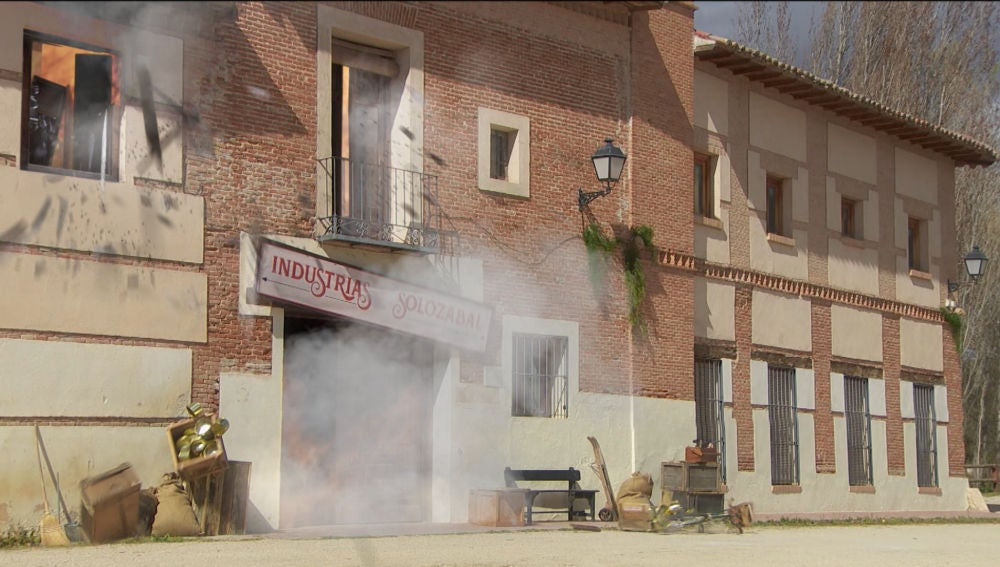 ¡Atentado en Puente Viejo! La fábrica de Solozábal vuela por los aires