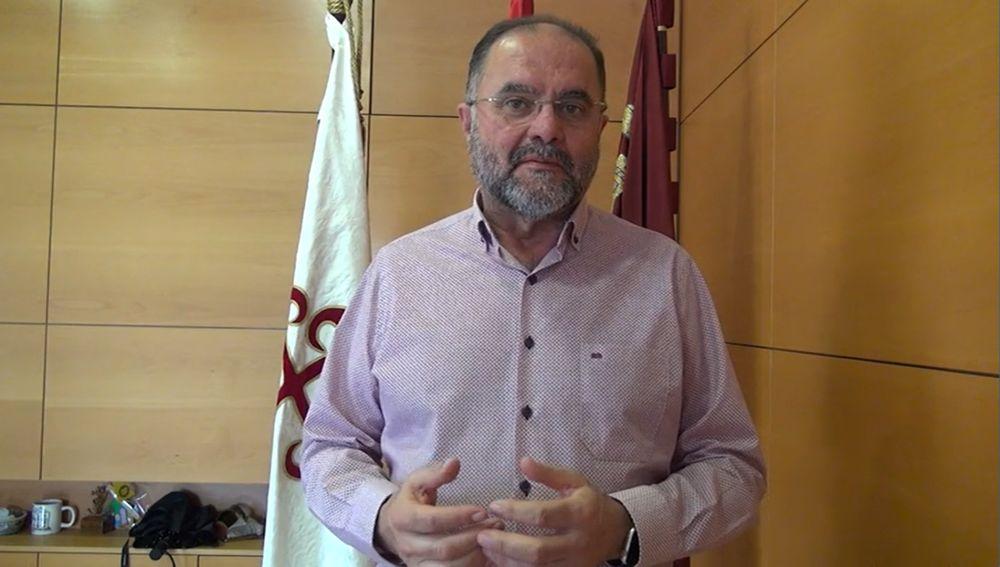 Juan José Cánovas, alcalde de Totana