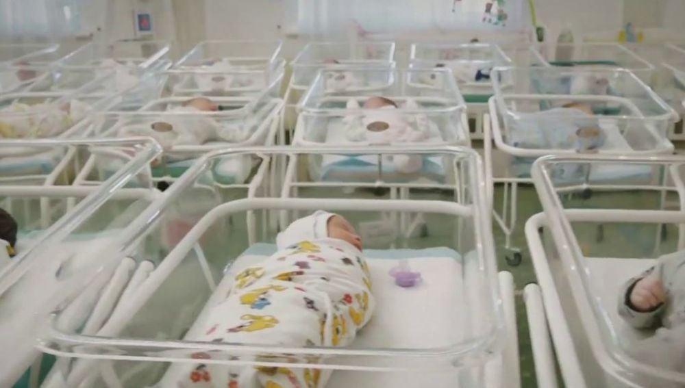 Bebés en hoteles de Ucrania