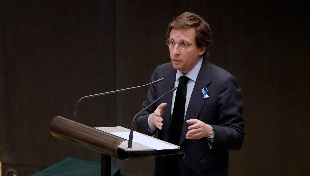 Martínez Almeida explica el plan para reconstruir Madrid