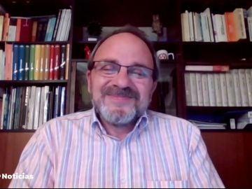 Eduardo Martínez, portavoz del Colegio de Biólogos de Cataluña