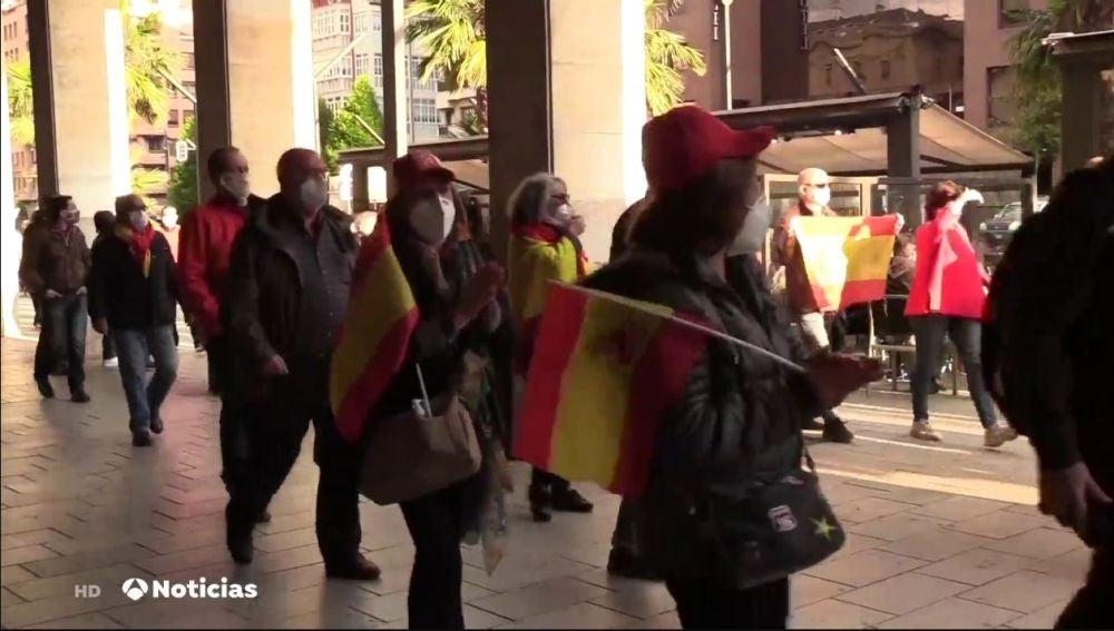 Cacerolada contra el Gobierno en Logroño