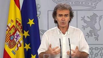 Fernando Simón comparece desde La Moncloa
