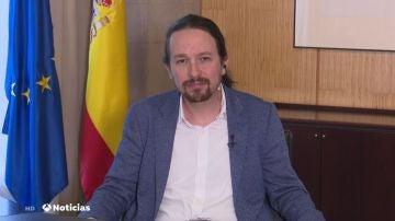 Pablo Iglesias anuncia en Twitter la aprobación del Ingreso Mínimo Vital