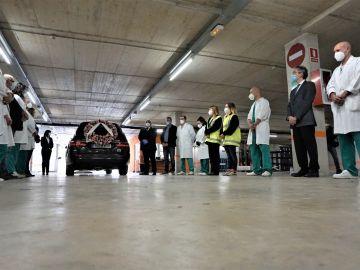 La funeraria Mémora cierra su depósito temporal de Barcelona tras 53 días desplegado por el coronavirus