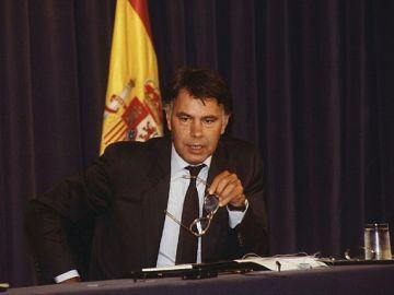 Felipe González en una rueda de prensa | 1989