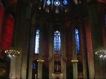 Primera Misa en la Catedral de Barcelona desde el estado de alarma por coronavirus