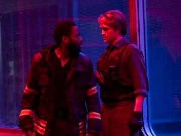 John David Washington y Robert Pattinson en 'Tenet'