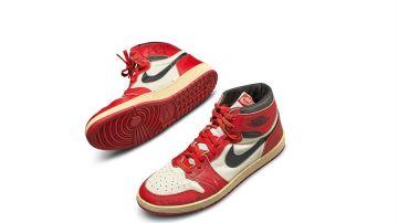 La astronómica subasta de unas Nike Air utilizadas por Michael Jordan bate récords en Sotheby's