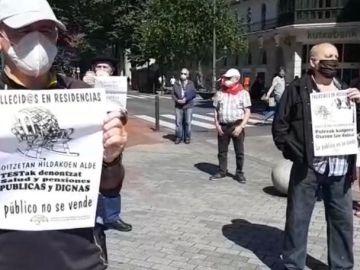 Pensionistas vascos vuelven a la calle