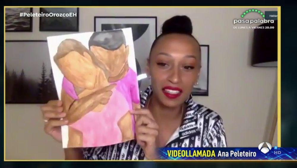 ¡Toda una artista! Las obras de arte que Ana Peleteiro ha creado durante el confinamiento