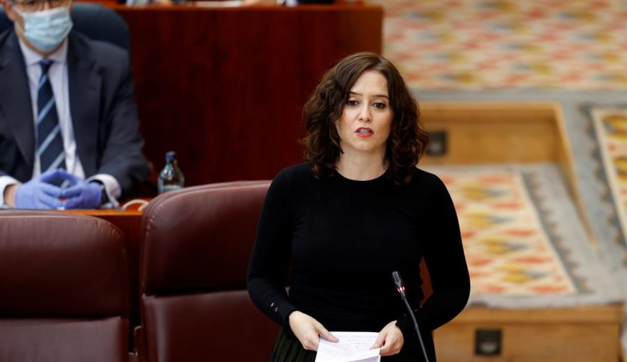 magen de archivo de la presidenta de la comunidad de Madrid, Isabel Díaz Ayuso.