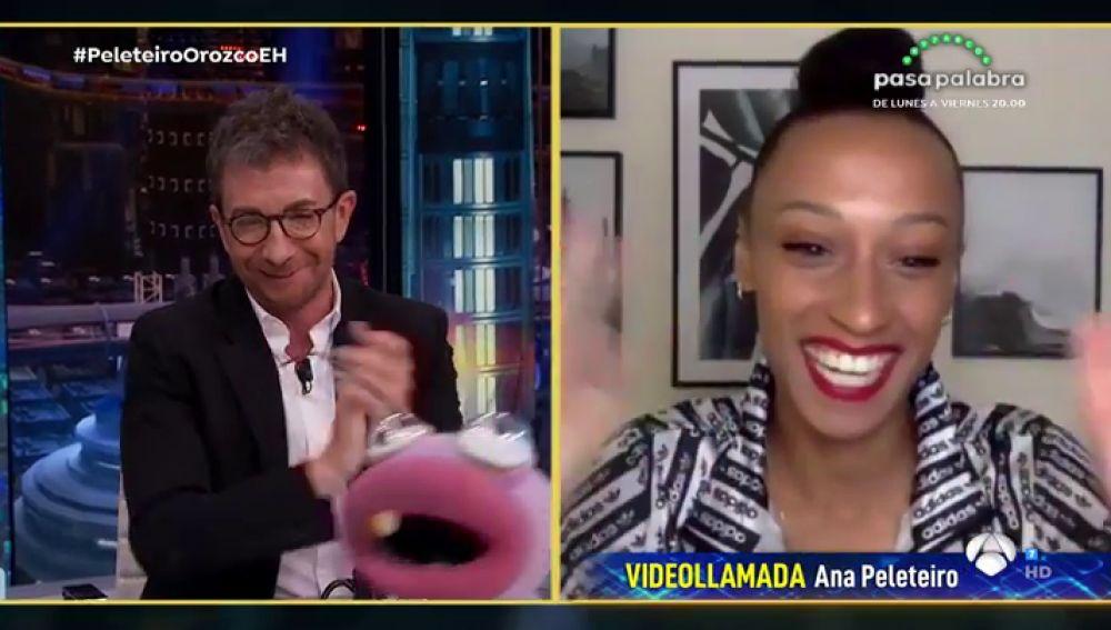 Disfruta de la entrevista al completo de Ana Peleteiro en 'El Hormiguero 3.0'
