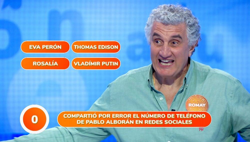 """""""¡Qué bestia!"""", la efusiva celebración de Fernando Romay en 'Una de Cuatro'"""