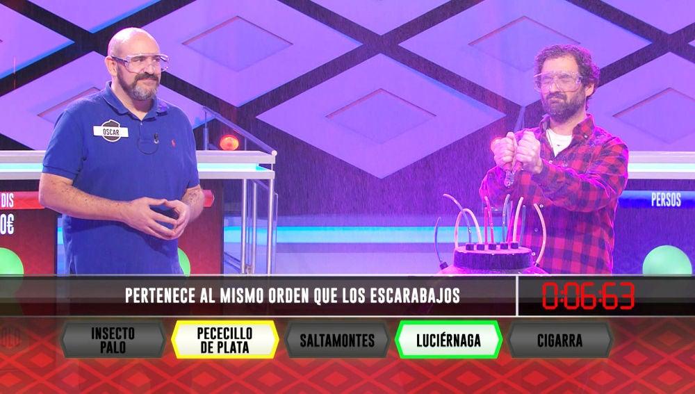 La inesperada explosión provocada por las dudas de Manolo y Óscar, del equipo 'Los dis', en '¡Boom!'