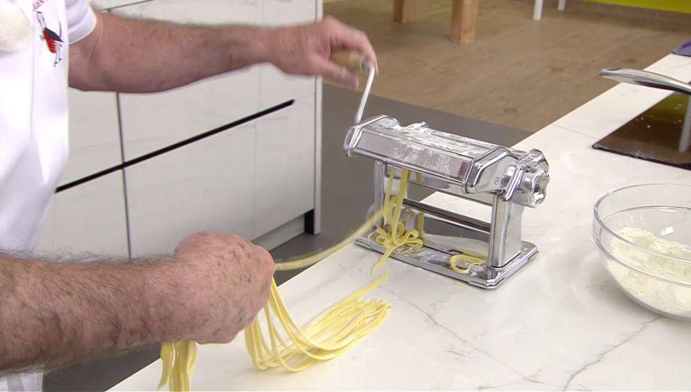 Karlos Arguiñano te enseña la forma más sencilla de hacer pasta fresca en casa