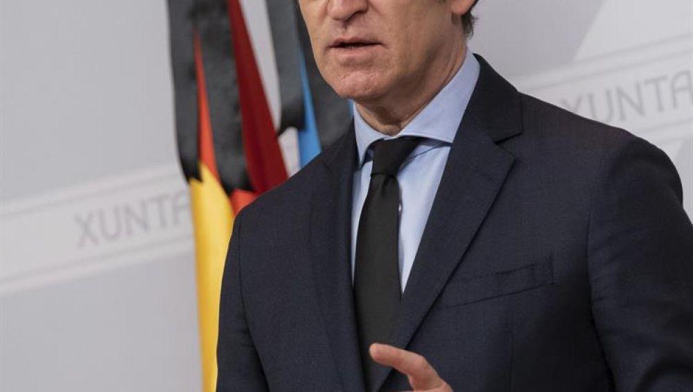 Feijóo anuncia elecciones gallegas