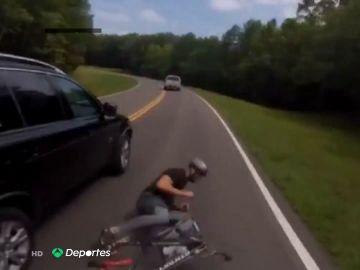 """Dos triatletas, atropellados durante el desconfinamiento por coronavirus: """"Igual estaba muerto"""""""
