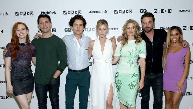 Los protagonistas de 'Riverdale'