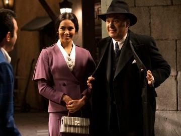 Cristina Pedroche y Roberto Brasero se cuelan en el final de 'El secreto de Puente Viejo'