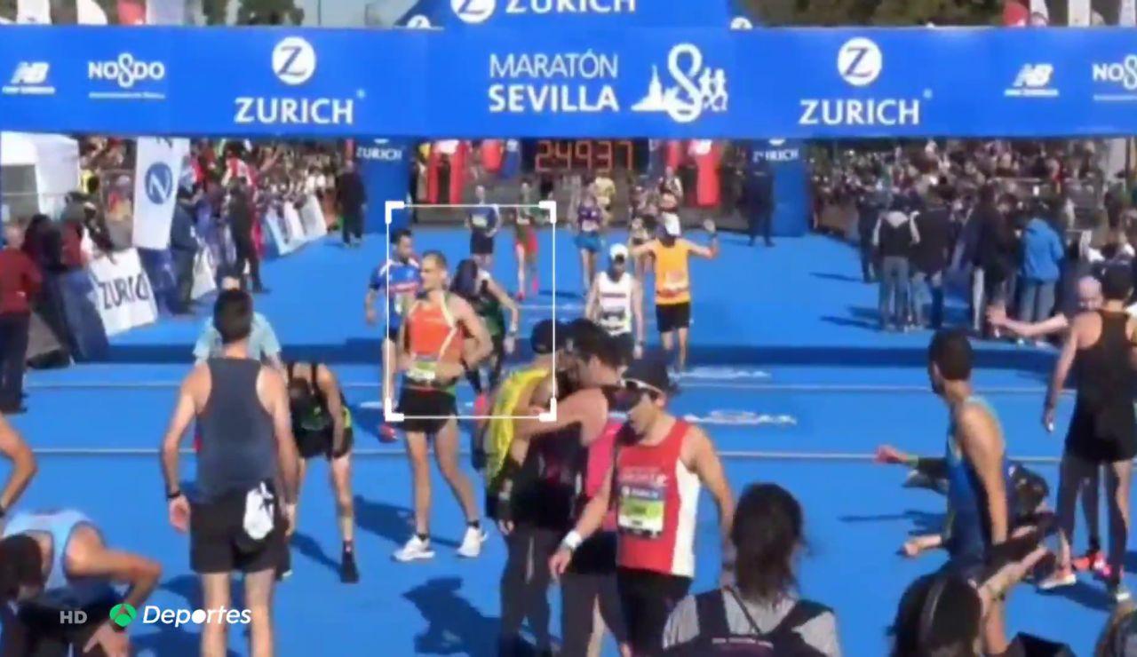 Óscar, el 'runner' que corrió con coronavirus el maratón de Sevilla del 23 de febrero
