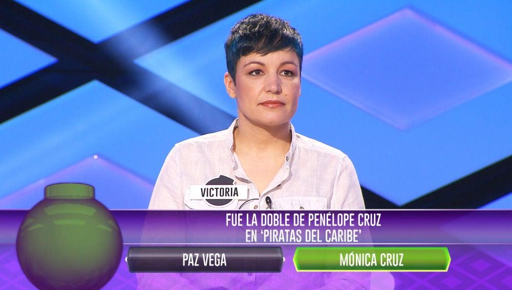 Victoria, imbatible en el primer asalto de '¡Boom!' para elegir compañero de juego