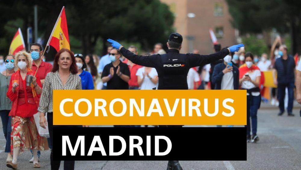Coronavirus Madrid: Fase 0,5 desescalada, datos de contagios y muertes hoy y última hora, en directo | Última hora Madrid
