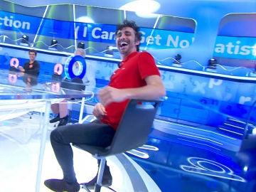 Canco Rodríguez se viene arriba con '(I can't get no) Satisfaction'