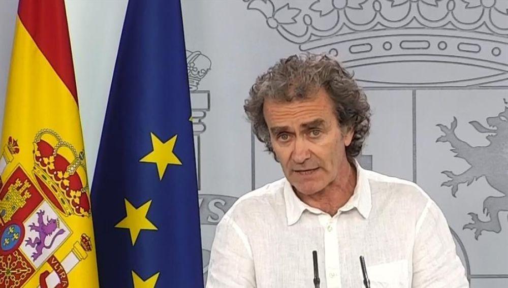 """Fernando Simón: """"No tengo miedo a que se me investigue; si el 8-M tuvo algún efecto fue marginal"""""""