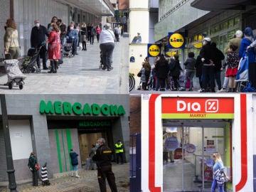 Horarios de los supermercados: Mercadona, Alcampo, Día, Lidl o Carrefour