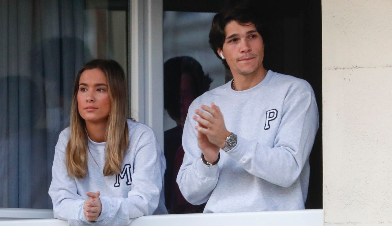 María Pombo y su marido Pablo Castellano