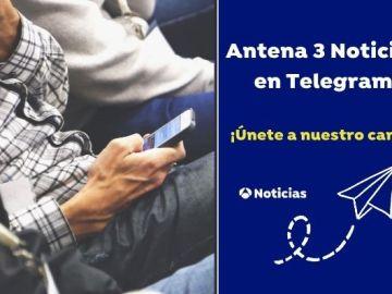 Telegram en Antena 3 Noticias. Aplicación de mensajería de noticias