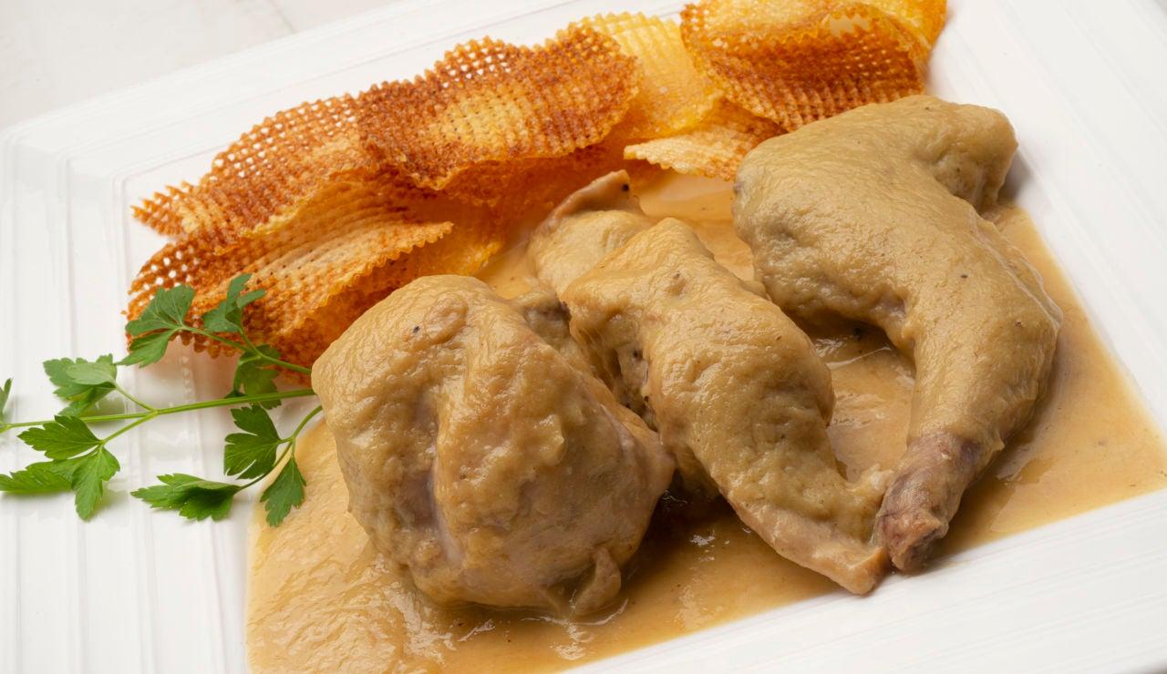 Cocina abierta de Karlos Arguiñano: Carne de conejo en salsa de pera