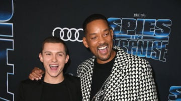 Tom Holland y Will Smith