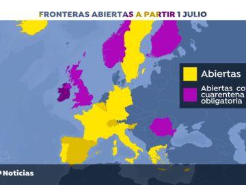 España pedirá que la Unión Europea abra sus fronteras por regiones con incidencia similar del coronavirus