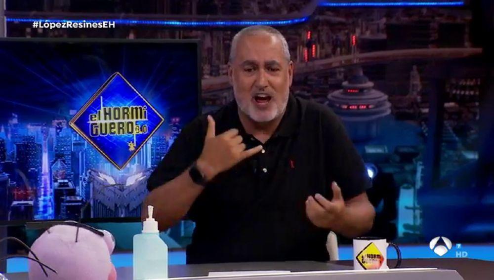 """El relato de Jorge Salvador sobre el gran incidente de la explosión en 'El Hormiguero 3.0': """"Fue un poco escandaloso porque había sangre y cristales"""""""